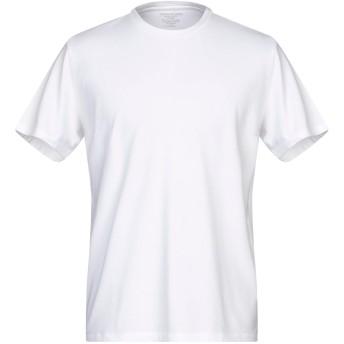 《9/20まで! 限定セール開催中》MAJESTIC FILATURES メンズ T シャツ ホワイト XL コットン 94% / ポリウレタン 6%