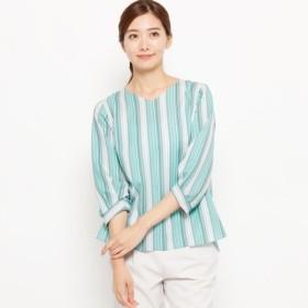 [マルイ]【セール】【手洗い可】マルチジェットストライプシャツ/スマートピンク(smart pink)