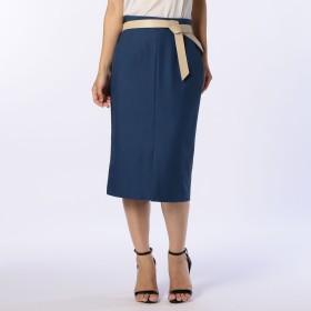 NOLLEY'S(ノーリーズ)/ベルト付きタイトスカート