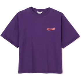 WELLDER(ウェルダー)/Wide Fit T-Shirts (humms Print)
