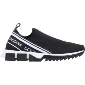 《期間限定セール開催中!》DOLCE & GABBANA メンズ スニーカー&テニスシューズ(ローカット) ブラック 40 紡績繊維 / ゴム