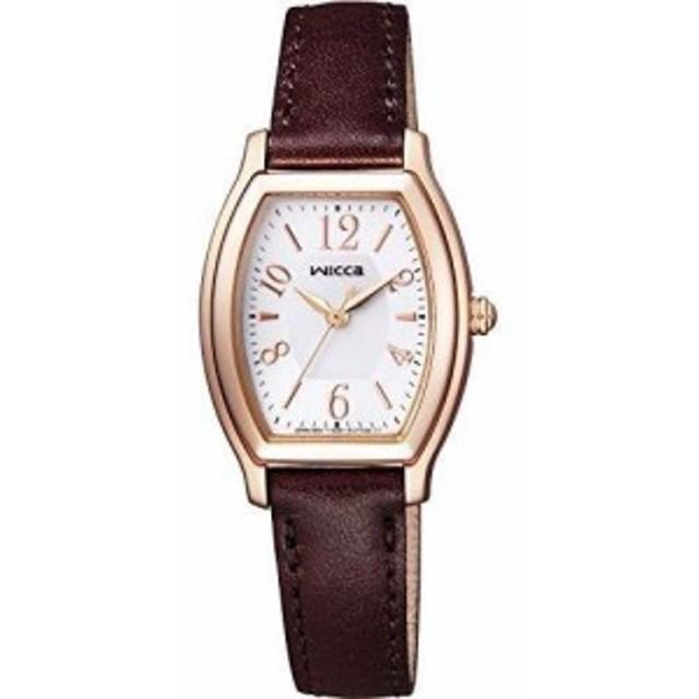 [シチズン]CITIZEN 腕時計 wicca ウィッカ ソーラーテック スタンダード トノー KH8-721-12 レディース