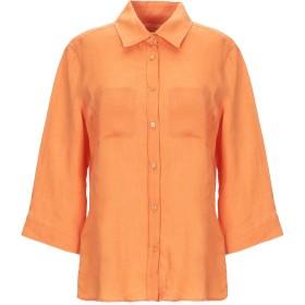 《期間限定セール開催中!》WEEKEND MAX MARA レディース シャツ オレンジ 42 麻 100%