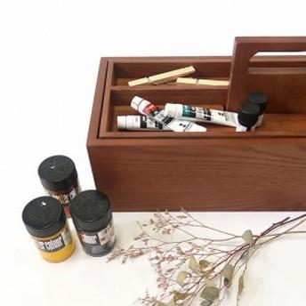 マルチストレージボックス BRUN 卓上 チェスト 木製 アンティーク 書類 キャビネット 収納 小物入れ 木で作った ラック 片付け 机上 ナ