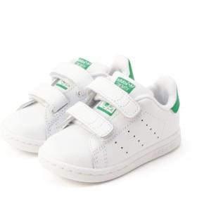 シップス キッズ adidas: STAN SMITH CF I レディース ホワイト 12 【SHIPS KIDS】