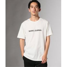 【40%OFF】 ジャーナルスタンダード BANKS/バンクス LABEL Tシャツ メンズ ホワイト XL 【JOURNAL STANDARD】 【セール開催中】