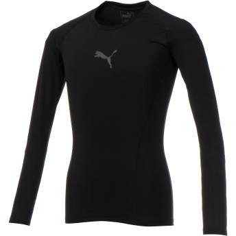 【プーマ公式通販】 プーマ テック ライト LS Tシャツ メンズ Puma Black  PUMA.com