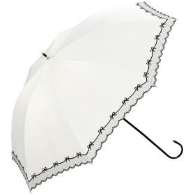 w.p.c(ダブリュピーシー)/日傘 晴雨兼用 遮光リボンレーススカラップ