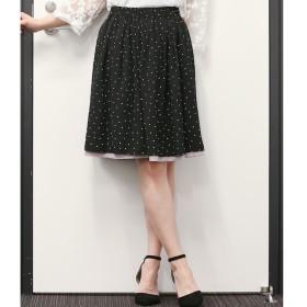 【ビス/ViS】 【2WAY】プリントリバーシブルスカート