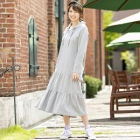 ローズティアラ(Rose Tiara)/ティアード切替ロングワンピース