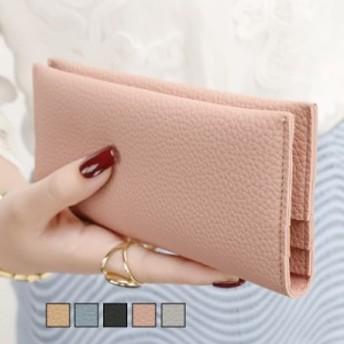 長財布 ウォレット レディース ロングウォレット 二つ折り財布 小銭入れ 女性用 合皮レザー カードケース 使いやすい プレゼント