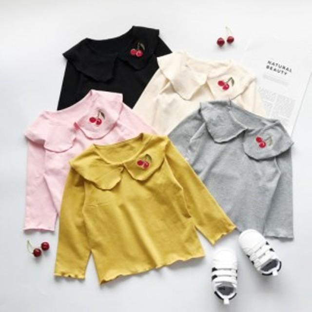 ブラウス シャツ 長袖 トップス 子供服 女の子 シャツ 長袖 秋服  女の子 女児 子供 ベビー キッズ 子ども 可愛い