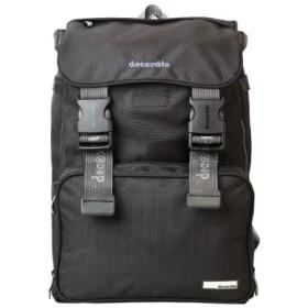 (Bag & Luggage SELECTION/カバンのセレクション)デコレート ロカーデュ+ハートフル リュック ランドセル 塾バッグ スクールバッグ 通学 レインカバー Lサイズ/25L/A4ファイル decorate/DMS/ユニセックス ブラック