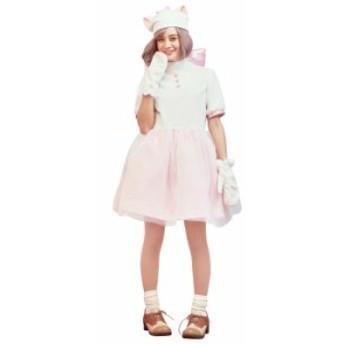 ディズニー ハロウィン コスプレ レディース コスチューム マリー Marie 37178 衣装 仮装 パーティーグッズ イベント なりきり 宴会 キャ