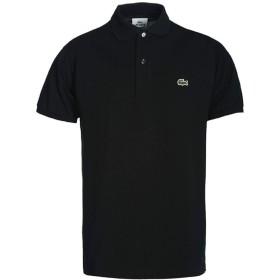 LACOSTE(ラコステ) メンズ ポロシャツ L1212 ブラック Sサイズ [並行輸入品]