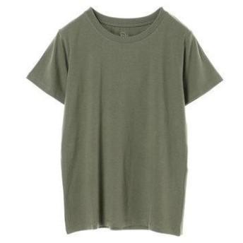 イーハイフンワールドギャラリー E hyphen world gallery クルーネックTシャツ (Khaki)