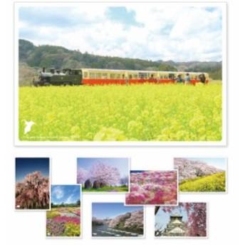 2019日本の絶景ポストカード「春」 8枚セット
