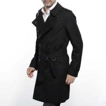 バーバリー BURBERRY トレンチコート CHELSEA HERITAGE TRENCH COAT ブラック メンズ 4073743-black