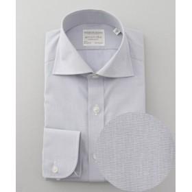 (gotairiku/五大陸)【形態安定】PREMIUMPLEATS ドレスシャツ/無地/メンズ ライトグレー系