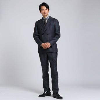 TAKEO KIKUCHI(タケオキクチ:メンズ)/ワイドチェックスーツ Fabric by MIYUKI Bemback(R)