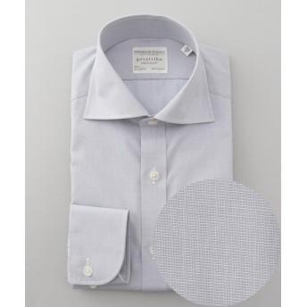 【25%OFF】 五大陸 PREMIUMPLEATS ドレスシャツ / 無地 メンズ ライトグレー系 14H 【gotairiku】 【セール開催中】