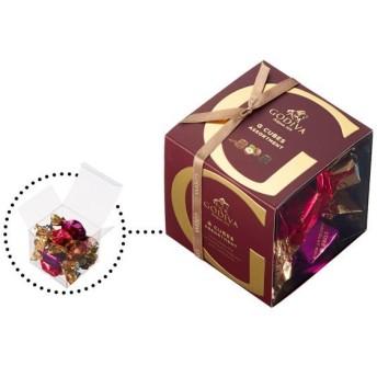 ゴディバ GODIVA ジー キューブ アソートメント 1箱(9個入)伊勢丹の紙袋付き 手土産ギフト