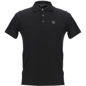 《セール開催中》EA7 メンズ ポロシャツ ブラック XXS コットン 95% / ポリウレタン 5%