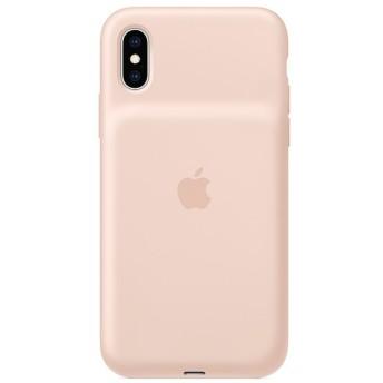 【純正】iPhone XS Smart Battery Case MVQP2ZA/A ピンクサンド