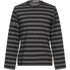 《期間限定セール開催中!》NUDIE JEANS CO メンズ T シャツ ブラック S コットン 100%
