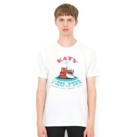 【グラニフ:トップス】Tシャツ/はたらきもののじょせつしゃけいてぃー(ヴァージニアリーバートン)