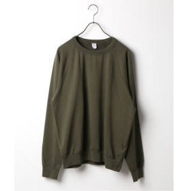 [マルイ] Tシャツ(SAVE KHAKI UNITED L/S SUPIMA FLEECE CREW)/ジャーナルスタンダード(メンズ)(JOURNAL STANDARD MEN'S)