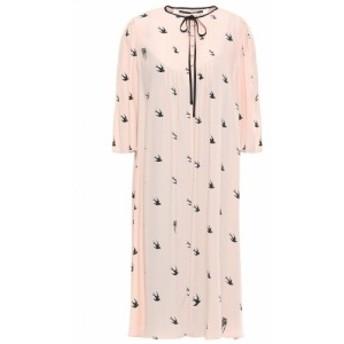 アレキサンダー マックイーン McQ Alexander McQueen レディース ワンピース ワンピース・ドレス Pintucked crepe de chine dress Pastel