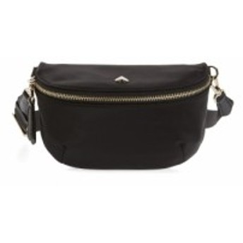 ケイト スペード KATE SPADE NEW YORK レディース ボディバッグ・ウエストポーチ バッグ medium taylor nylon belt bag Black