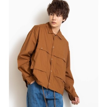 [マルイ]【セール】コットンタイプライタークロップドワークジャケット/ウィゴー(メンズ)(WEGO)