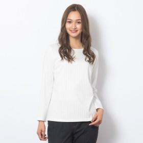 [マルイ]【セール】[大きいサイズ/L・LL]ボートネックリブTシャツ/ピサーノ(PISANO)