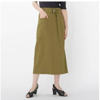 【ドレステリア/DRESSTERIOR 】 【WEB限定Lサイズあり】【洗える】アウトポケットタイトスカート