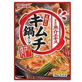 【送料無料】マルサンアイ 旨鍋専科 キムチ鍋スープ 750g×10袋入