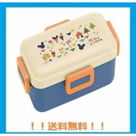 スケーター ふんわり盛れるドーム型フタ 弁当箱 530ml ミッキーマウス バケーション 日本製 PFLB6