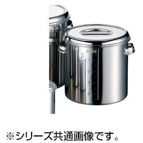 AG18-8深型キッチンポット 目盛付 10cm 007686-001