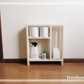 『Iibee-ホワイト』 トイレ収納 トイレラック 収納棚 棚 シェルフ