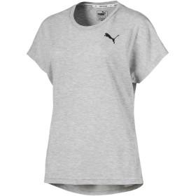 【プーマ公式通販】 プーマ ACTIVE メッシュ ヘザー SS ウィメンズ Tシャツ 半袖 ウィメンズ Light Gray Heather |PUMA.com