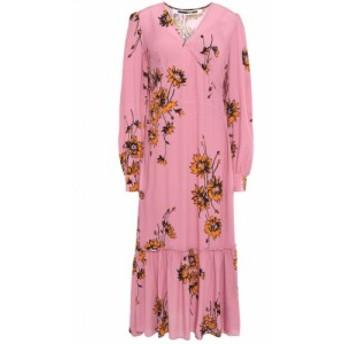 アレキサンダー マックイーン McQ Alexander McQueen レディース ワンピース ワンピース・ドレス Crepe de chine midi dress Pink