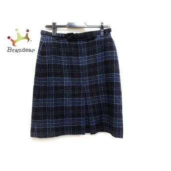ヴィヴィアンタム スカート サイズ0 XS レディース 美品 ブルー×アイボリー×マルチ 花柄   スペシャル特価 20191210