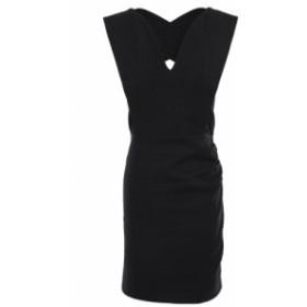 バッシュ BA&SH レディース ワンピース ワンピース・ドレス Cutout paneled cotton-blend mini dress Black
