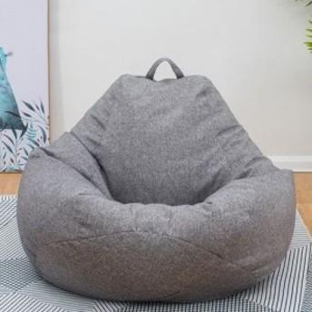 リビング フィット ソファー 一人用 XLサイズ カバー コットンリネン布製 洗濯可能