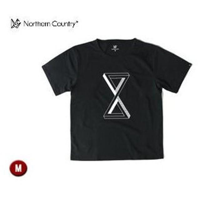 Northern Country/ノーザンカントリー  TR1303 トレッキングTシャツ 【M】 (ブラック)