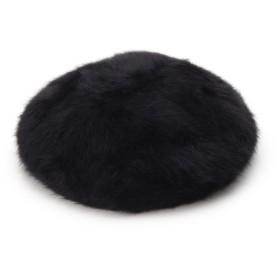 THE SHOP TK ふわふわアンゴラベレー帽 レディース