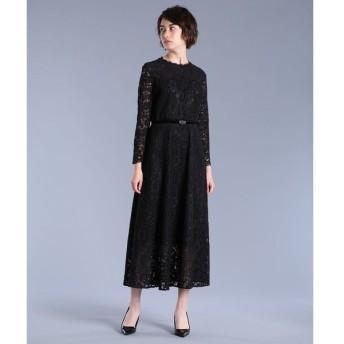 ef-de / 《Maglie White》コードレースロングドレス