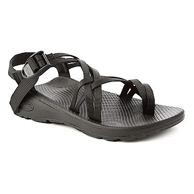 美國Chaco。女 越野舒壓運動涼鞋-雙織夾腳款CH-ZLW04H405 (黑)