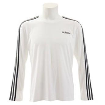 【Super Sports XEBIO & mall店:トップス】D2M 3ストライプスロングスリーブTシャツ GER64-EI5646